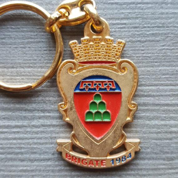 Portachiavi in Metallo MONTECAVARCHI Brigata 1984