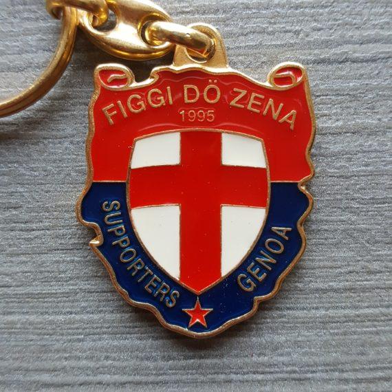 Portachiavi in Metallo Genoa Figgi Do Zena