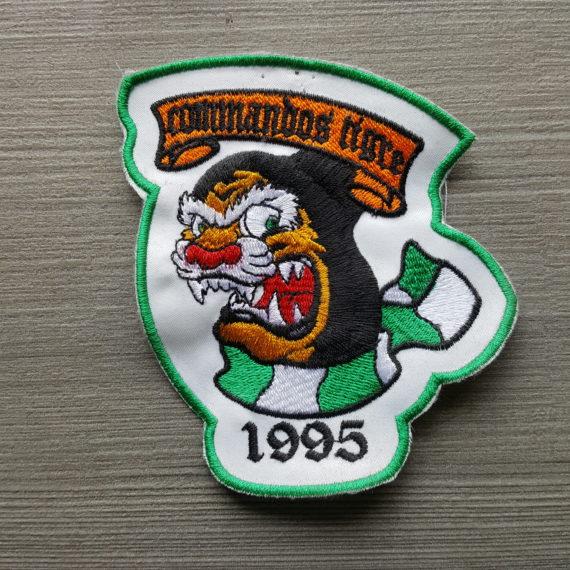 Toppa Ricamata BASKET SIENA Commandos Tigre