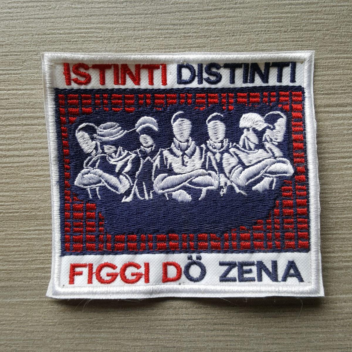 Toppa Ricamata GENOA Figgi do Zena