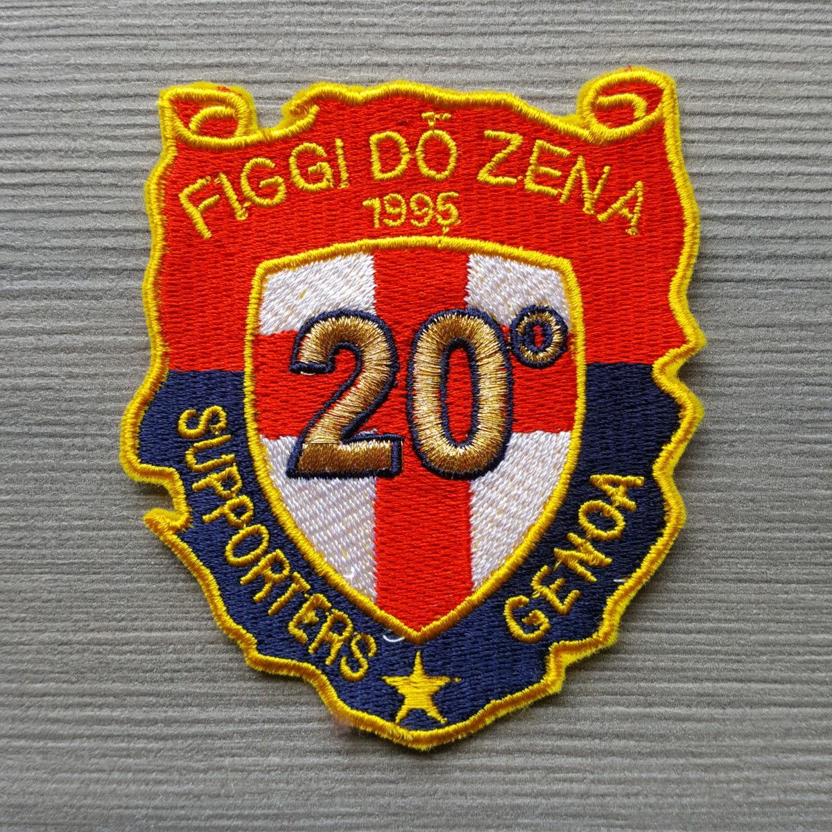 Toppa Ricamata GENOA Figgi do Zena 20 anno