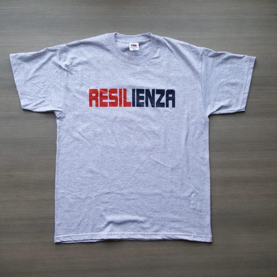 T-shirt GENOA Figgi do Zena Resilienza Davanti