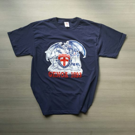 T-shirt Stampata GENOA Figgi do Zena T-shirt Vichinghi 2017