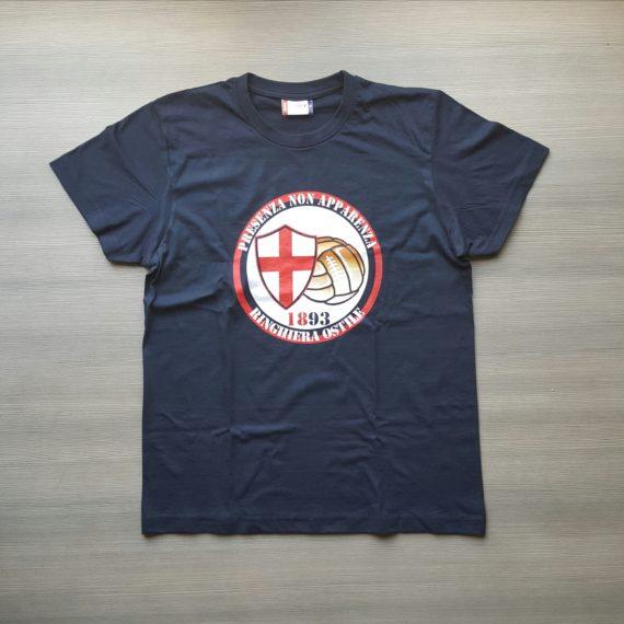 T-shirt stampata GENOA Ringhiera Ostile