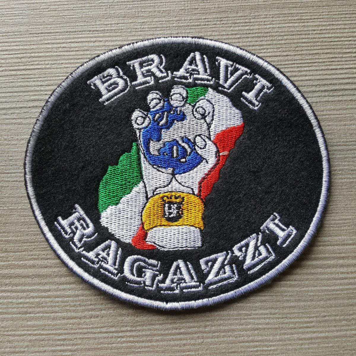 Toppa Ricamata JUVENTUS Bravi Ragazzi