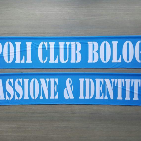 Sciarpa Raso NAPOLI Club Bologna