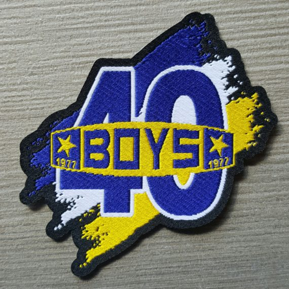 Toppa HD PARMA Boys 1977 commemorativa 40 ANNI