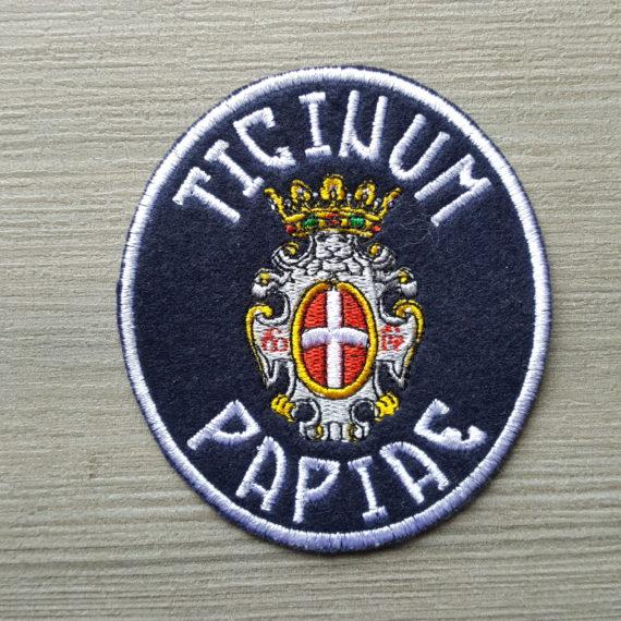 Toppa Ricamata PAVIA Ticinum Papie