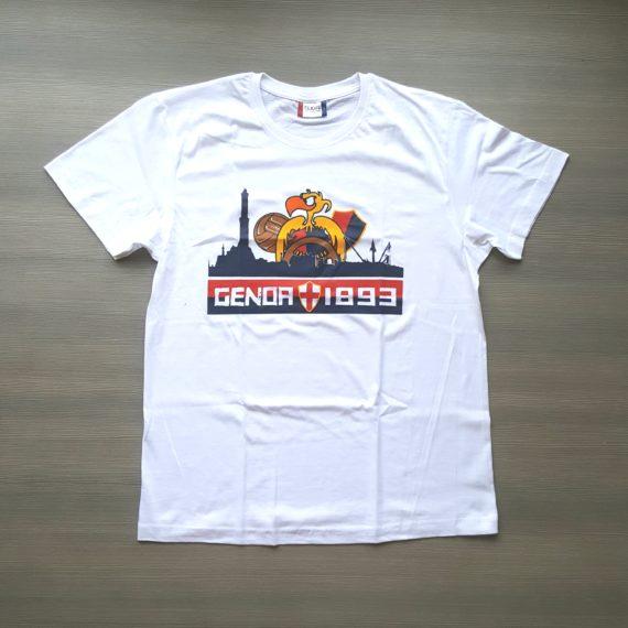 T-shirt Stampata GENOA Club AMT 2017-18