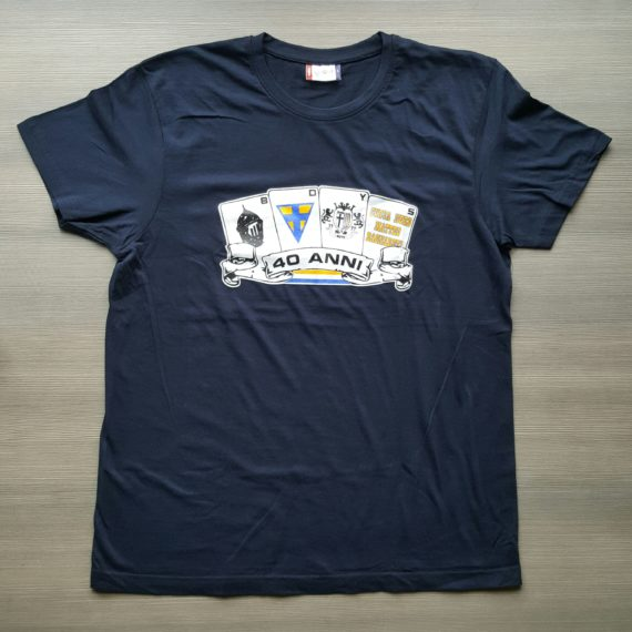 T-shirt Stampata PARMA Boys Commemorativa 40° Anno