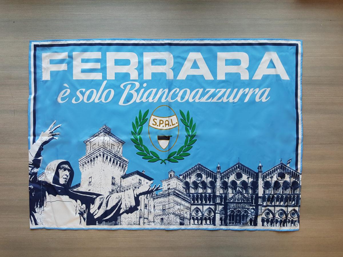 Bandiera SPAL Curva Ovest Ferrara
