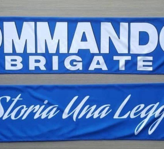 Sciarpa Raso BOLOGNA Commandos 1° disegno 2017-18