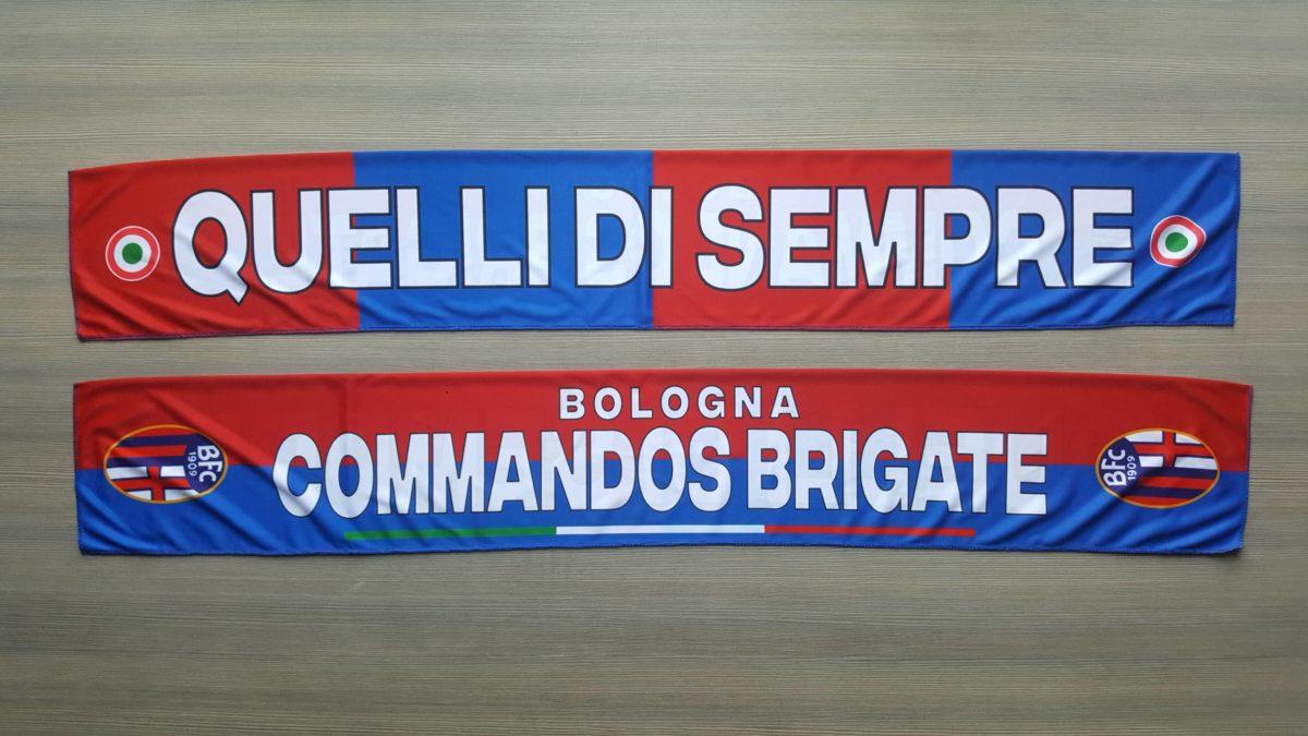 Sciarpa Raso BOLOGNA Commandos 2° disegno 2017-18