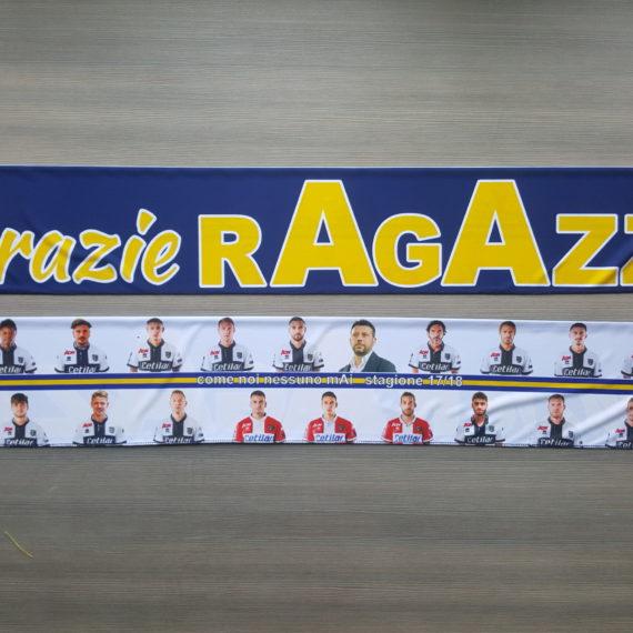 Sciarpa Raso PARMA Centro Coordinamento Celebrativa Promozione 2017-18