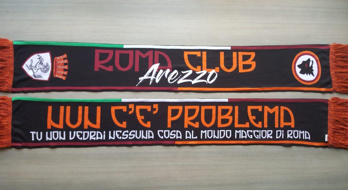 Sciarpa HD ROMA Club Arezzo 2017-18